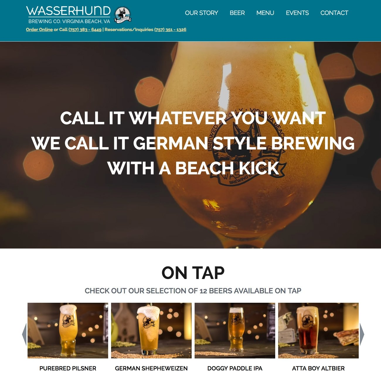 picture of Wasserhund home page