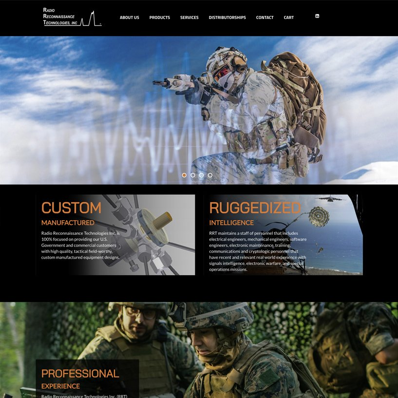 Radio Recon home page picture