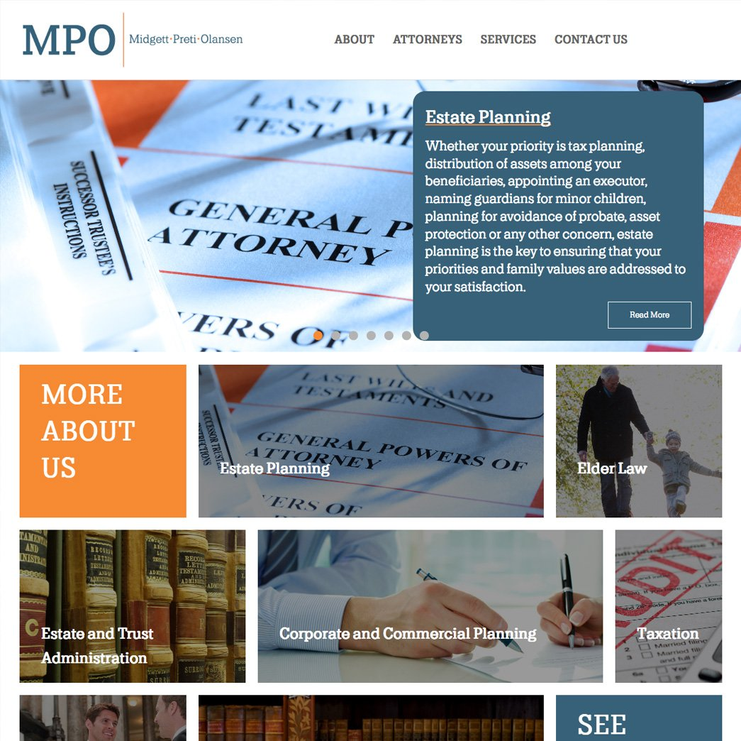 picture of MPO web page
