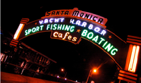 Santa Monica Fishing Pier photo
