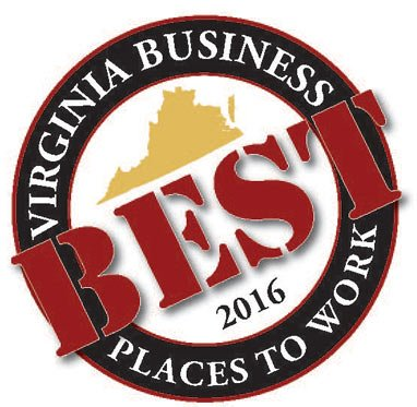 2016 Best Place to Work Emblem
