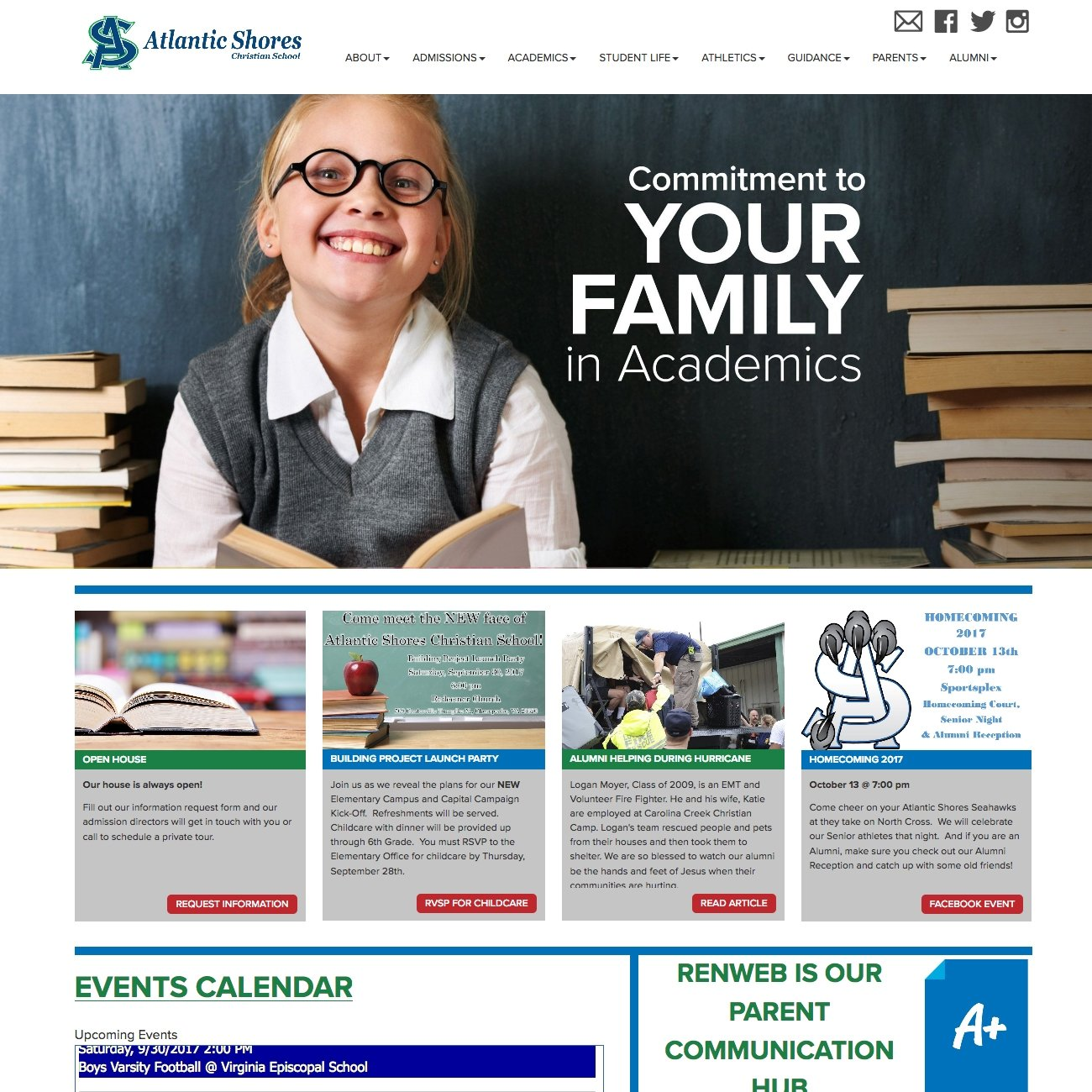 picture of Atlantic Shores home page
