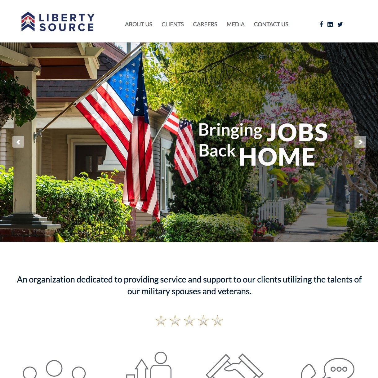 picture of Liberty Source home page