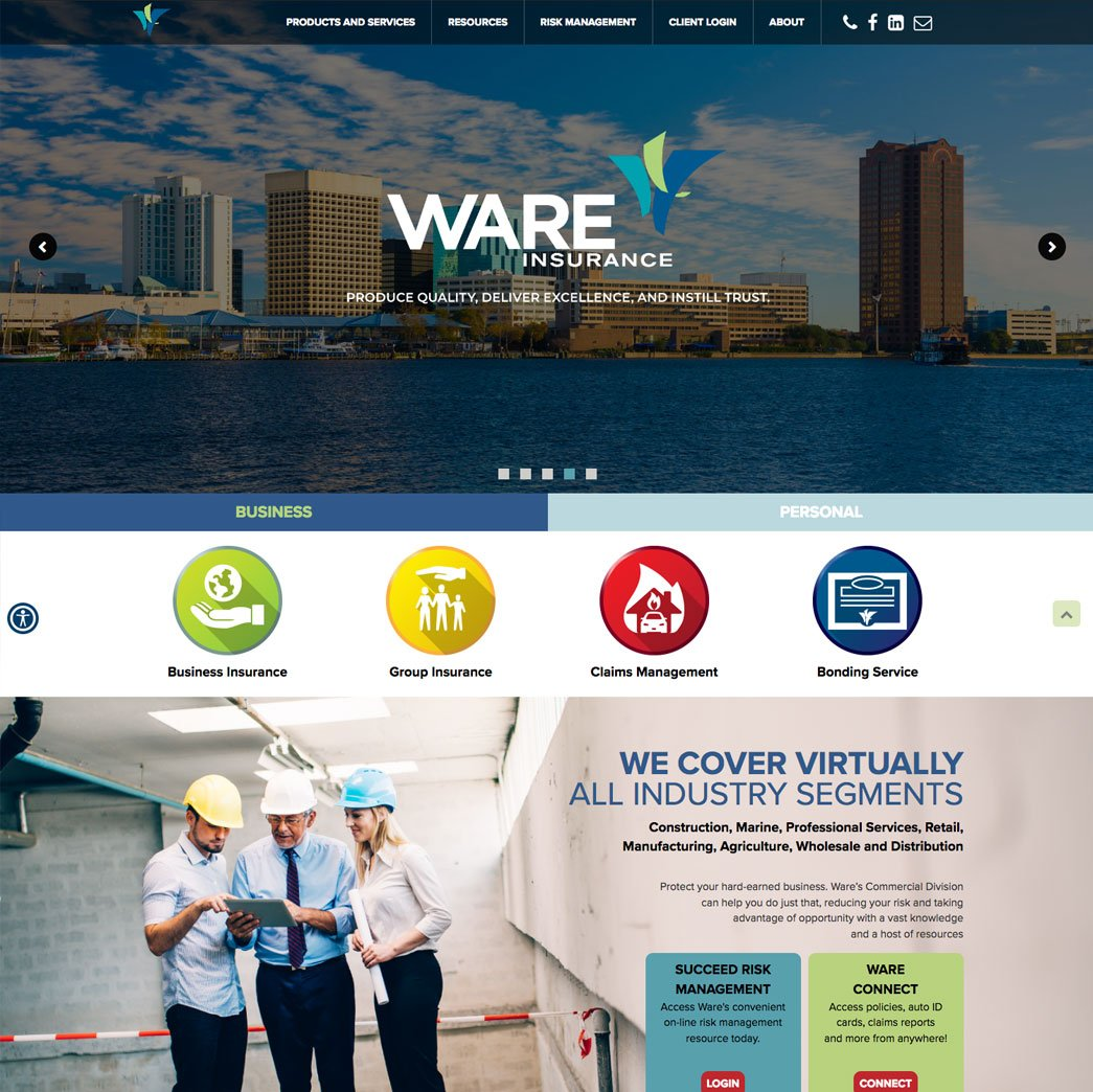 picture of Ware web page