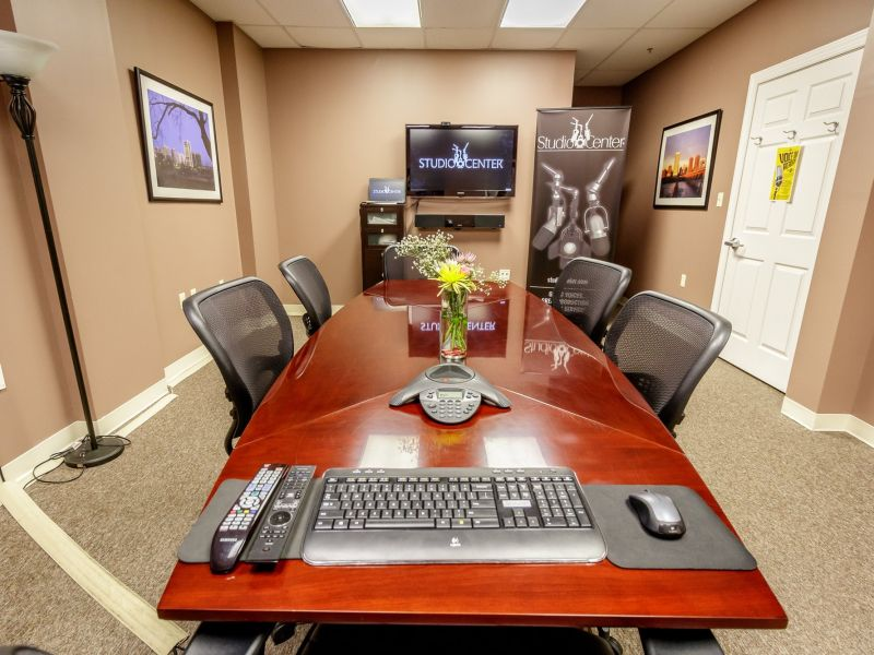 picture of conference room at the Richmond office