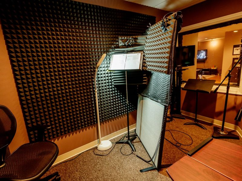 Richmond voiceover booth