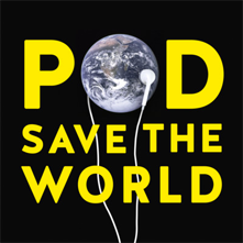 pod save the world podcast graphic