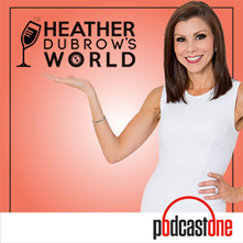 heather dubrow podcast graphic