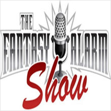 fantasy alarm podcast graphic