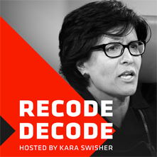 recode decode podcast graphic