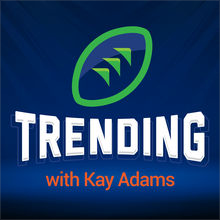 trending podcast graphic